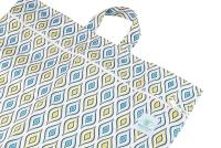 Blümchen - lang wetbag med lynlås og strop - drop