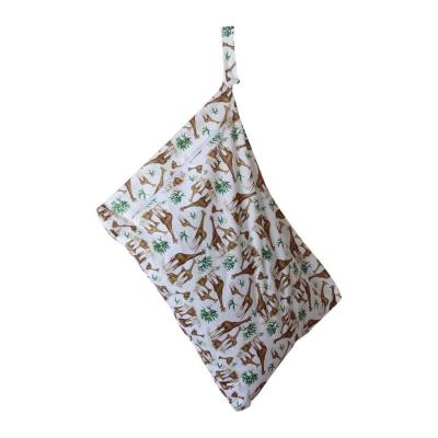 Little Lamb - wetbag med lynlås og strop - head in the cloud
