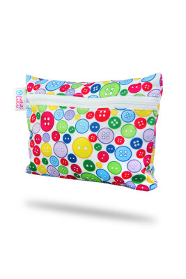 Petit Lulu wetbag - mini - sewing buttons