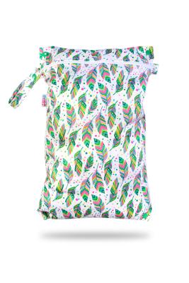 Petit Lulu wetbag med lynlås og strop - indian summer