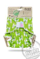 Petit Lulu - MAXI fluffy organic - velcro - alpacas