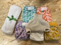 Bamboozle Stretch natpakke med uld - 5 bleskift