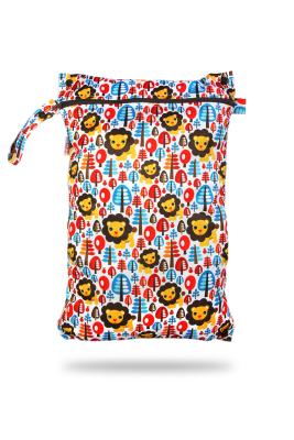 Petit Lulu wetbag med lynlås og strop - king of the jungle