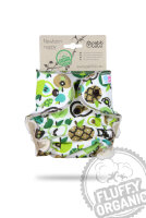 Petit Lulu - fluffy - newborn - apples (green)