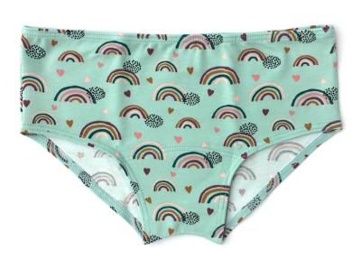 Colorio Organics - mid-waist trusser - teal rainbow