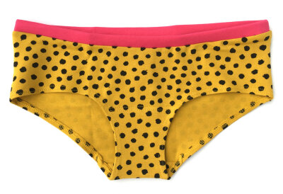 Colorio Organics - boxer underbuks - yellow cheetah