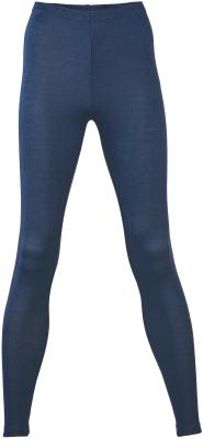 Engel leggings til kvinder i uld/silke - navy