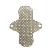 WeeCare trussebind - dots grey - 1 stk
