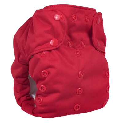 Smart Bottoms - dream diaper 2.0 AIO - basic red