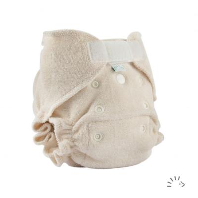 Popolini - ultrafit ble i økologisk bomuld - nyfødt
