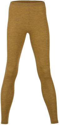 Engel leggings til kvinder i uld/silke - saffron