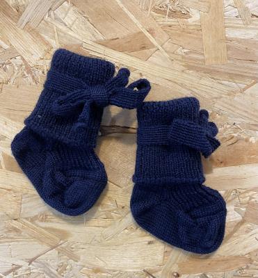Hirsh sokker til nyfødte - navy