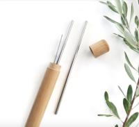 Concept Zero - Bambus case til sugerør