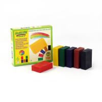 ÖkoNORM sunde bivoks blokke - 6 stk - klassiske farver