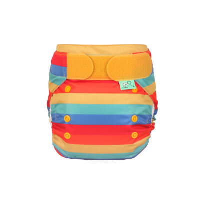 Totsbots easyfit STAR - onesize - rainbow stripe