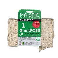 Maistic - grøntsagspose GOTS - str L