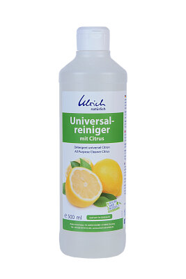 Ulrich Natürlich - universalrengøring med citrus - 500 ml - økologisk