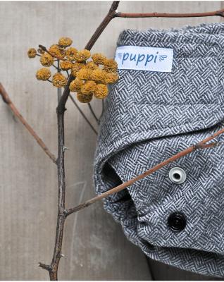 Puppi merino uld cover - mini onesize - velcro - timeless elegance