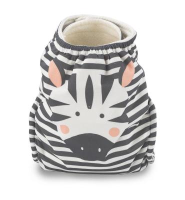 Kit & Kin onesize lommeble - zebra