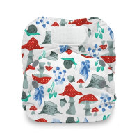 Thirsties AIO natural newborn velcro - forest frolic