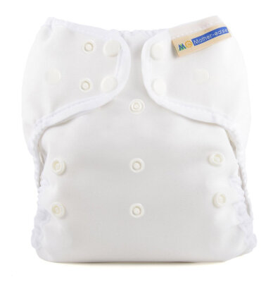 Mother ease - wizard uno staydry -AIO onesize - white