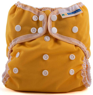Mother ease - wizard uno organic - AIO onesize - mustard