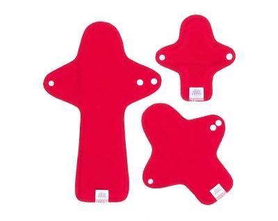 Ella's House stofbind - økologisk bomuldsjersey - prøvepakke - roulette red