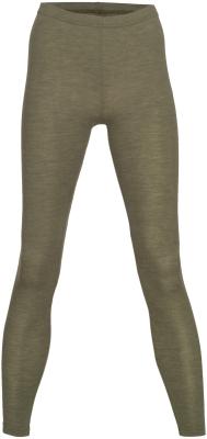Engel leggings til kvinder i uld/silke - oliven