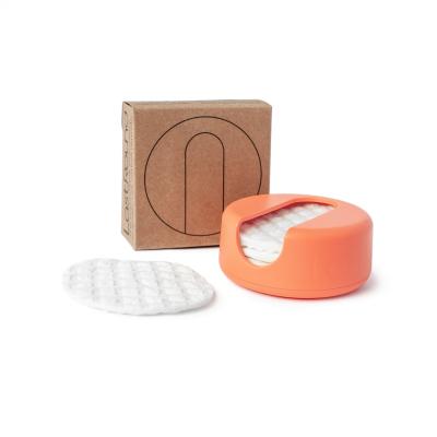 LastRound genanvendelige rondeller - peach