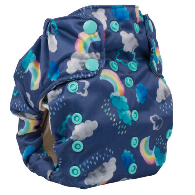 Smart Bottoms - dream diaper AIO 2.0 - over the rainbow