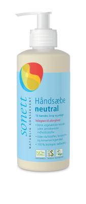 Sonett håndsæbe - duftfri 300 ml