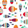 Fås også som Bambooty - wetbag - mini - fishes