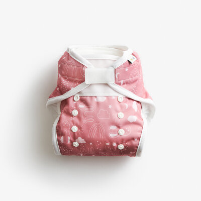 Imse Vimse soft blecover AI2 - onesize - rusty pink teddy