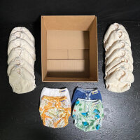 Mother ease - duo - bomuld - AI2 onesize - 12 bleskift