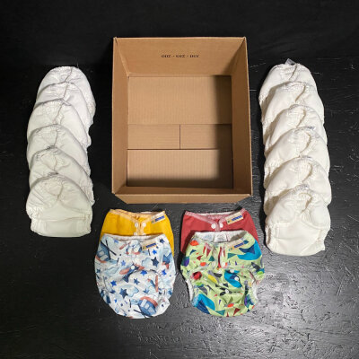 Mother ease - duo - staydry - AI2 onesize - 12 bleskift