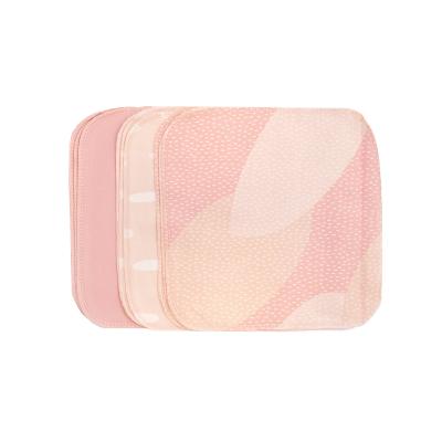 Imse Vimse - økologisk flonelsvaskeklude 10 stk - pink sprinkle