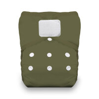 Thirsties lommeble - velcro - olive