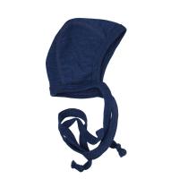 Engel babyhjelm - økologisk uld - blå