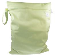 Blümchen - wetbag med lynlås og strop - grøn