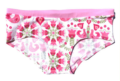 Colorio Organics bikinitrusse - Pink Folklore - Vælg Str.