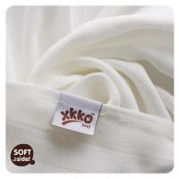 XKKO bambus stofbleer - hvide - 3 stk