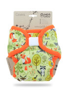 Petit Lulu XL cover - velcro - forest animals