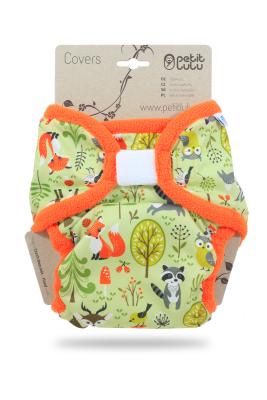 Petit Lulu XL cover - Forest Animals - Velcro