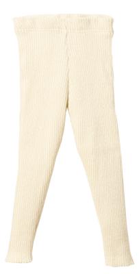 Disana strikkede leggings - økologisk uld - natur
