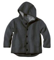 Disana jakke i kogt uld - mørkegrå UDGÅR 62/68