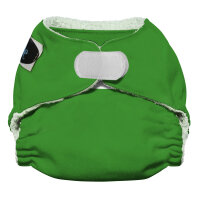 Imagine newborn AIO bambus 2.0 - velcro - emerald