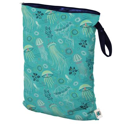 Planet Wise - wetbag med lynlås og strop - jelly jublee