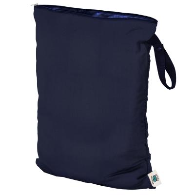 Planet Wise - wetbag med lynlås og strop - navy