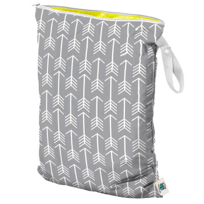 Planet Wise - wetbag med lynlås og strop - aim twill