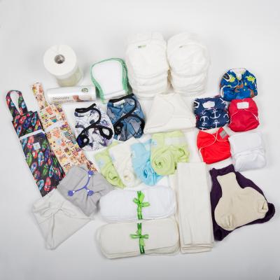 Nyfødt Lejepakke - Moderne Stofbleer for 175 kr om ugen